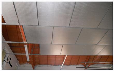 Falso techo decorativo tipos de madera y formas de - Techos decorativos de madera ...